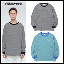 イベント/関税込★thisisneverthat★Hsp Striped L/SL Top★2色