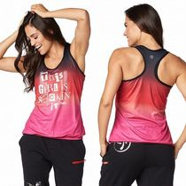 ☆ZUMBA・ズンバ☆Rockin' It Bubble Tank BK