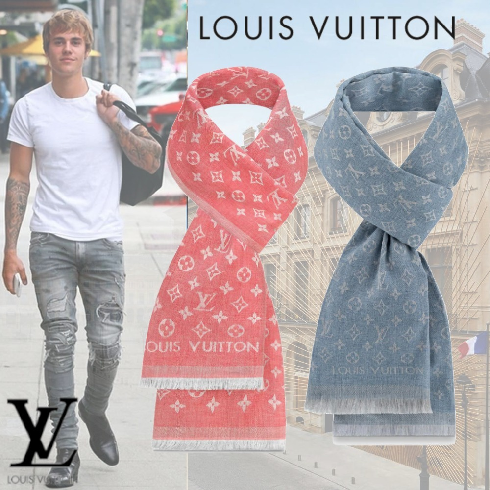 Shop Louis Vuitton Monogram 2019 Ss Monogram Essential Stole M76016 M71220 By Ravie Buyma