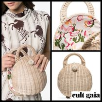 Cult Gaia【カルトガイア】Millie Rattan カゴバッグ
