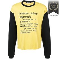 ENFANTS RICHES DEPRIMES(アンファンリッシュ) Tシャツ・カットソー 最終SALE▲Vicious Cycle ロング Tシャツ