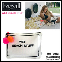 【Bag-all】関送込 NY発♡ WET BEACH STUFF ポーチ