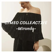 CAMEO COLLECTIVE(カメオコレクティブ) チュニック 2016AW【CAMEO】ALLURE PEARLTOP