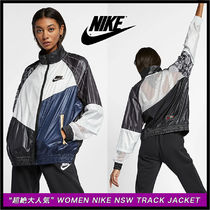 """超絶大人気!"" Women Nike Nsw Track Jacket♪Black&White"