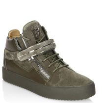 ☆GIUSEPPE ZANOTTI☆ SALE!  Leather High-Top Sneakers