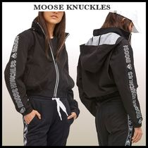 MOOSE KNUCKLES(ムースナックルズ) パーカー・フーディ MOOSE KNUCKLES 袖ロゴ♪ ANGRIGNONパーカー カナダより発送☆