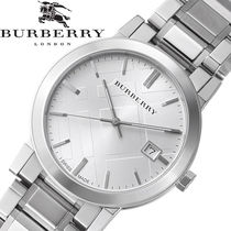 大特価 Burberry(バーバリー ) Check Silver Unisex Watch