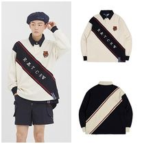 日本未入荷ROMANTIC CROWNのLogo Line Polo Shirt 全2色