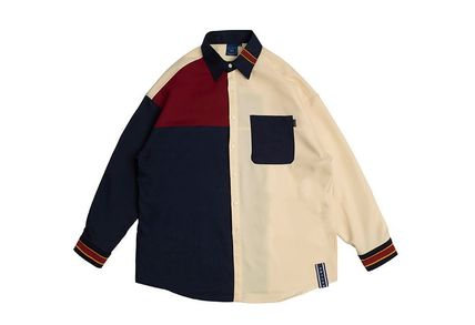 ROMANTIC CROWN ブラウス・シャツ 日本未入荷ROMANTIC CROWNのColor Block Shirt 全2色(9)