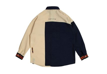 ROMANTIC CROWN ブラウス・シャツ 日本未入荷ROMANTIC CROWNのColor Block Shirt 全2色(10)