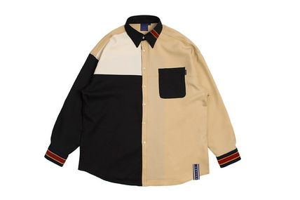 ROMANTIC CROWN ブラウス・シャツ 日本未入荷ROMANTIC CROWNのColor Block Shirt 全2色(18)