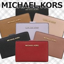 【国内即発】MICHAEL KORS 二つ折り財布 JET SET TRAVEL BIFOLD