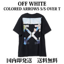 【国内即発】【送料無料】COLORED ARROWS S/S OVER TEE BLACK