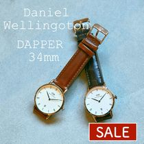 【SALE】Daniel Wellington ダニエルウェリントン 34mm DAPPER