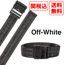 SALE! 関税・送料込 OFF-WHITE Industrial ラバーベルト