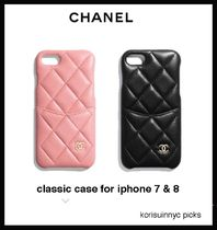 人気のマトラッセ*CHANEL*classic case for iphone 7/8