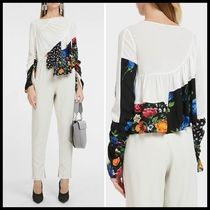 関税送料込3.1 Phillip Lim Ruffle Layered Floral Blouse