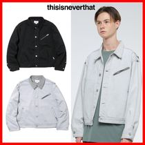 韓国の人気★【thisisneverthat】★Denim Trucker Jacket★2色★
