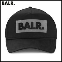 【BALR】RUBBER BOX LOGO CAP BLACK