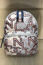 """2019 SS C H A N E L★CHANEL LETTERS"""" BACKPACK IN PRINTED"""