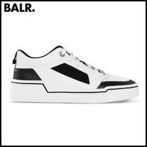 【BALR】MESH PANELLED LOW-TOP SNEAKERS