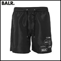 【BALR】BALR. BADGE SWIM SHORTS BLACK