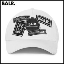 【BALR】BALR. BADGE CAP WHITE