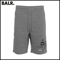 【BALR】BALR. BADGE SHORTS GREY