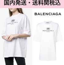 ★BALENCIAGA★*関税送料込*BB MODE Oversize Logo T-shirt
