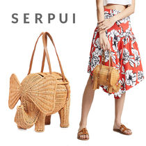【送料関税込】Serpui Marie Elephant Wicker クラッチ