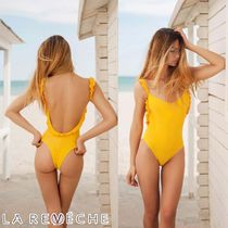 LA REVECHE☆JEBEL YELLOW-SWIMSUIT SNSやインスタで人気沸騰中