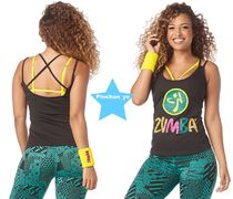 2019.3月新作☆【ZUMBA】I Want My Zumba Tank(Black)Z1T01912