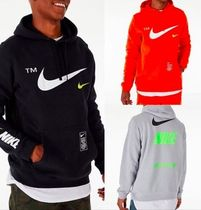 ☆US限定☆ NIKE NSW MICROBRAND PULLOVER HOODIE - MEN'S