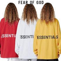 *FEAR OF GOD*ロゴ Tシャツ ESSENTIALS BOXY GRAPHIC LS TEE