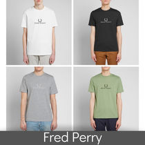 FRED PERRY(フレッドペリー) Tシャツ・カットソー ★国内送関込★Fred Perry Logo Tee★フレッドペリーロゴTシャツ