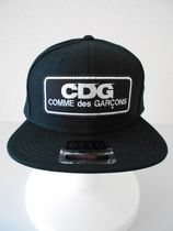 送料無料!CDG LOGO PATCH CAP / BLACK