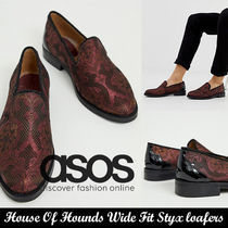 ASOS◆House Of Hounds ジャカードシューズ◆大人仕上げ