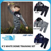 [THE NORTH FACE] ★ 19's NEW★ K'S WHITE DOME TRAINING SET