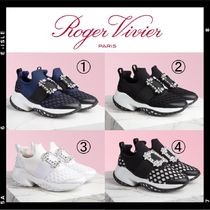 【Roger Vivier】Viv' Run Strass Buckle