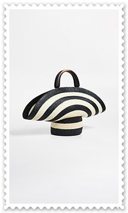 Eugenia Kim かごバッグ ◆Eugenia Kim◆帽子風 Stripe Flavia Tote Bag 【関税送料込】(3)