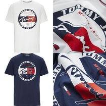 【Tommy Jeans】 サークル グラフィック ロゴ Tシャツ