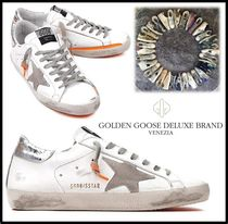 ★関税込/追跡★GOLDEN GOOSE★SUPERSTAR SNEAKERS★ORANGE