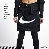 人気話題コラボ!Nike x MMW 002 2-in-1 Women's Skirt Black