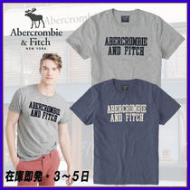 Abercrombie & Fitch◆アップリケ ロゴTシャツ・2色◆在庫即発