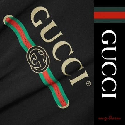 GUCCI Tシャツ・カットソー 【国内発送】GUCCI Tシャツ Oversized distressed printe Tshirt(5)