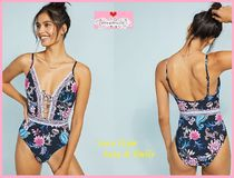 最安*関送込【Anthro】Seafolly Water Garden One-Piece Swimsui