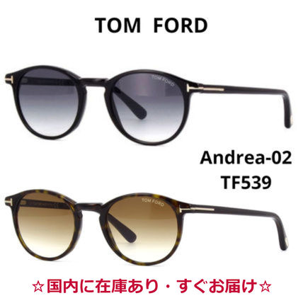 TOM FORD サングラス 関送込*TOM FORD*Andrea-02 TF539  サングラス