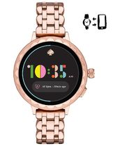 20190310021 Scallop Rose Gold-Tone Stainless Steel Touchscre