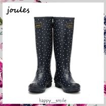 §Joules Clothing§ 国内発送 雫プリントレインブーツ