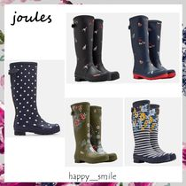 §Joules Clothing§ 国内発送 バックがセット付きレインブーツ